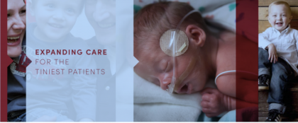Crowdfunding - Newborn Intensive Care Unit Transformation Project