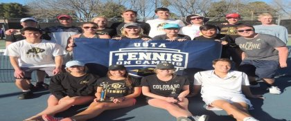 Crowdfunding - Get CU Tennis Club to Nationals 2017!