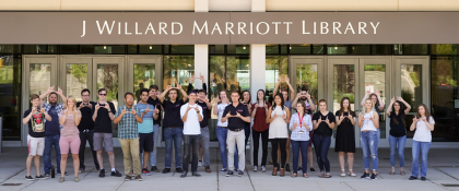 Crowdfunding - J. Willard Marriott Library Scholarships
