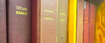 Crowdfunding - Chicago Maroon Digitization Project
