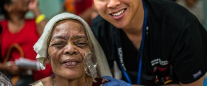 Crowdfunding - Moran Eye Center- Humanitarian Hero's Challenge