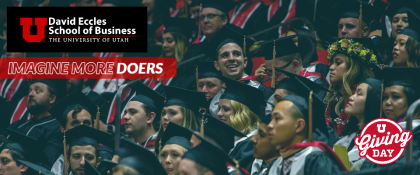 Crowdfunding - David Eccles School of Business Scholarships