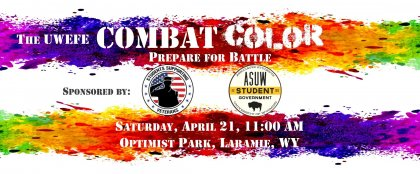 Crowdfunding - The COMBAT Color Run