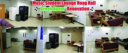 Crowdfunding - Music Student Lounge Renovation