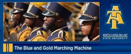 Crowdfunding - The Blue and Gold Marching Machine