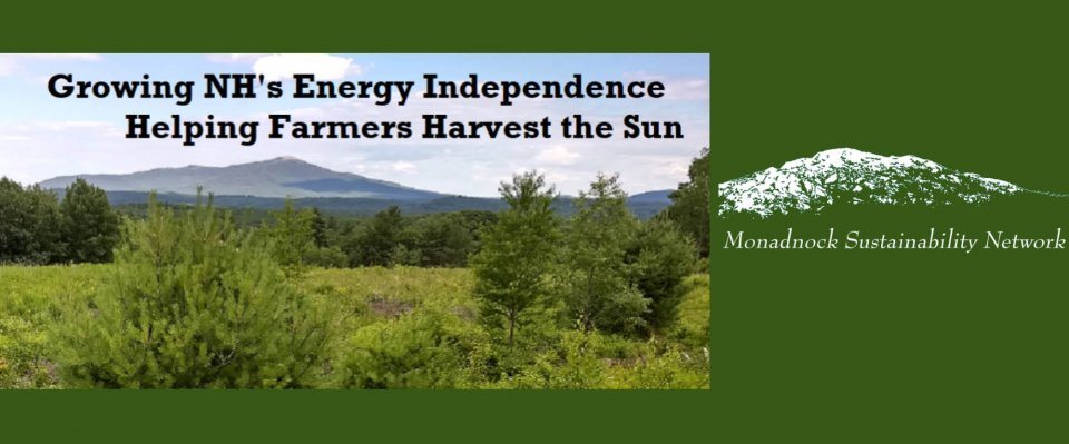 Crowdfunding - Growing NH's Energy Independence - Helping Farmers Harvest the Sun