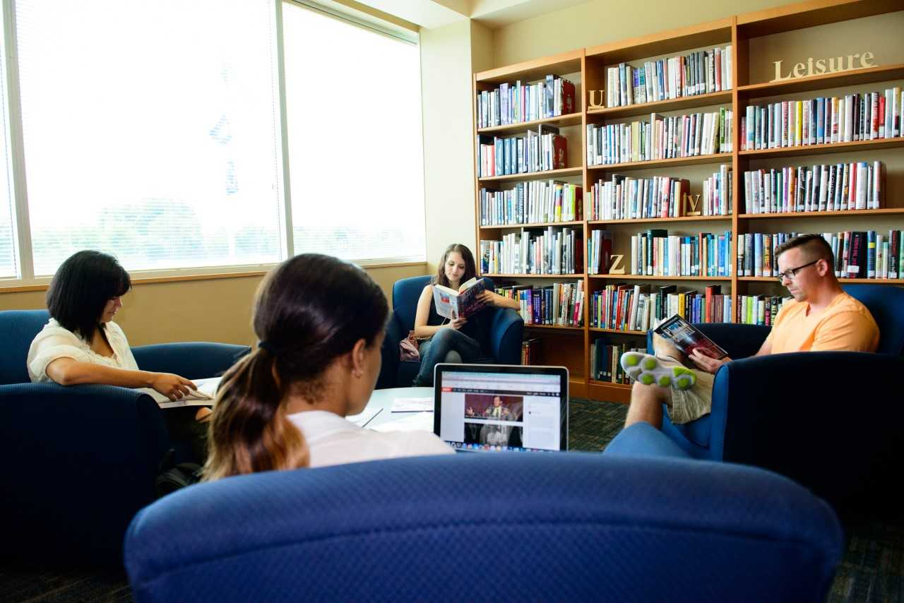 Penn State Lehigh Valley Study Spaces Community Funded